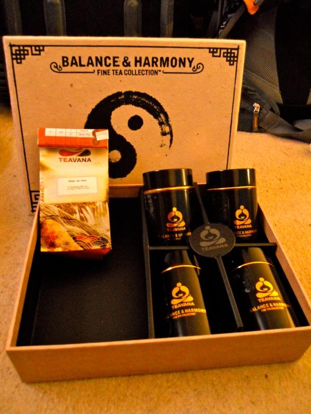 Teavana gift set