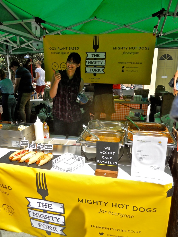 The Mighty Fork stall