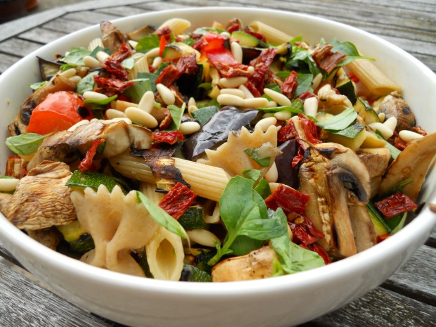 Pasta salad won't make you fat - especially if you share it with lots of friends!