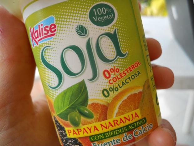 Canarian soy yoghurt