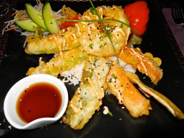 Sushi Mex tempura