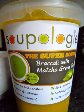 Soupologie Broccoli and Matcha