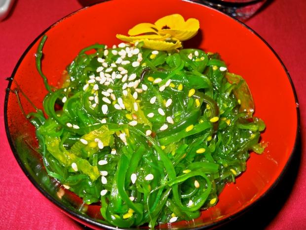 Aka wakame salad