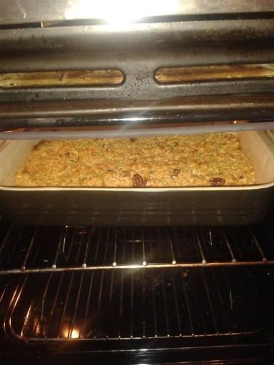 Baking flapjack