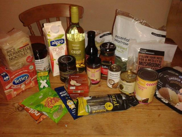 Viv's first vegan food shop