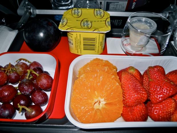Qantas fruit platter