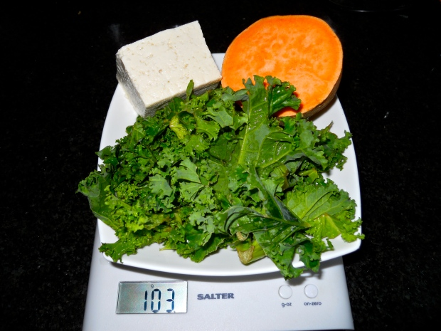 Magnesium-rich greens and tofu
