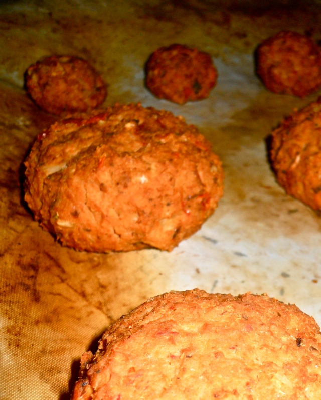 Celeriac patties