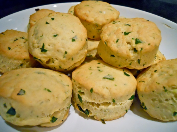 Buttermilk herb biscuits