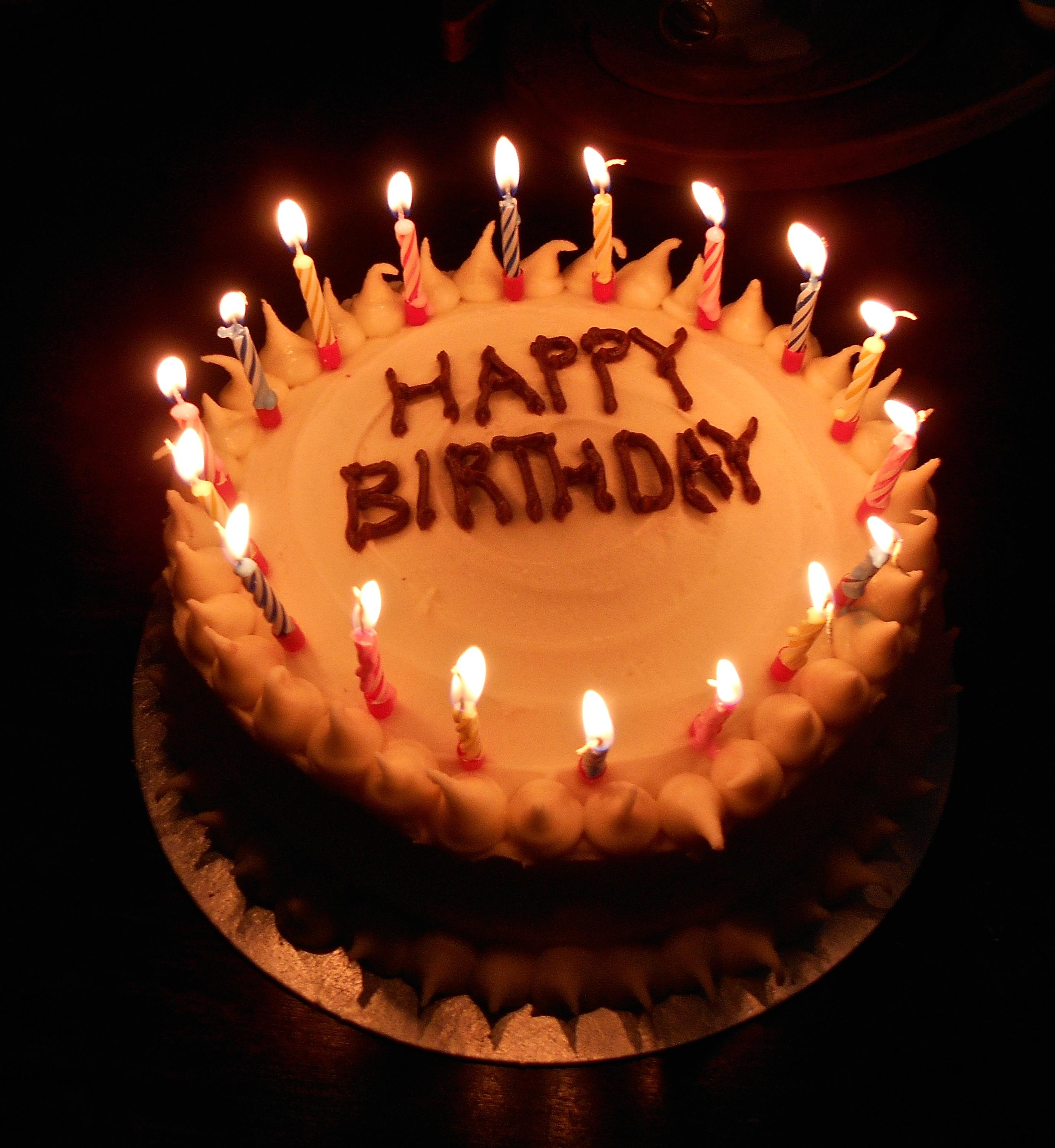 Vegan Birthday Cake (and Other Stories)