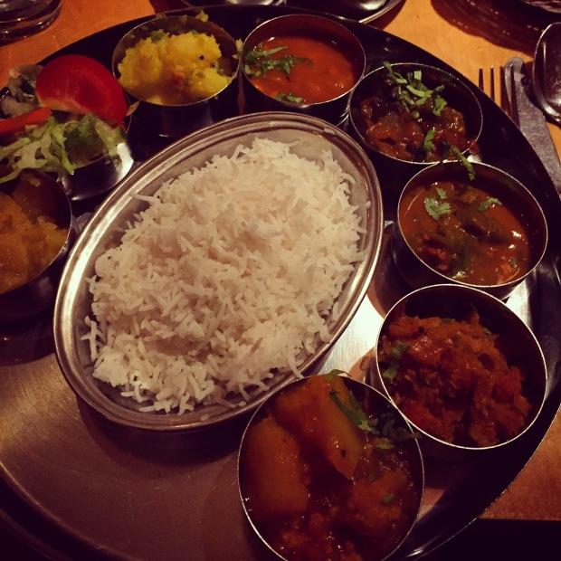 Sagar vegan thali