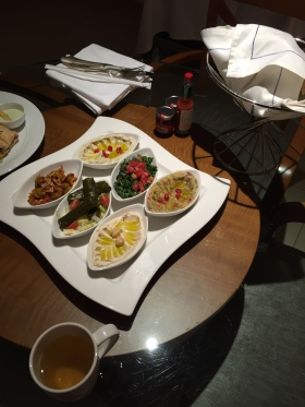 Fairmont Dubai vegan room service