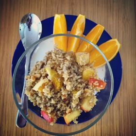 Zsu Dever breakfast quinoa