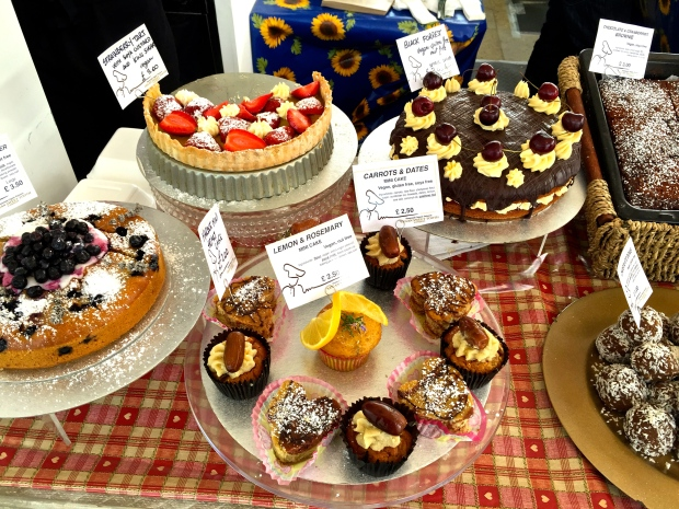 Vegan Sweet Tooth London cakes