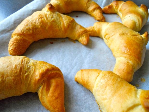 Vegan Jusrol croissants