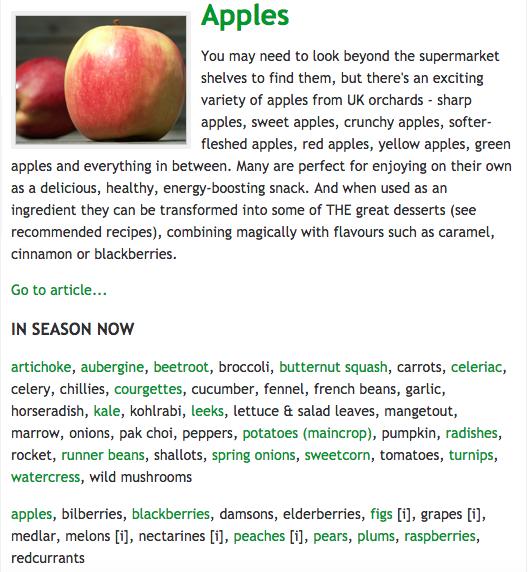 Eat The Seasons: September