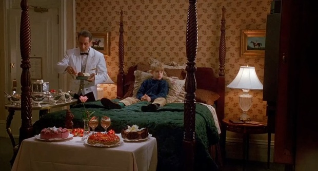Home Alone 2 room service