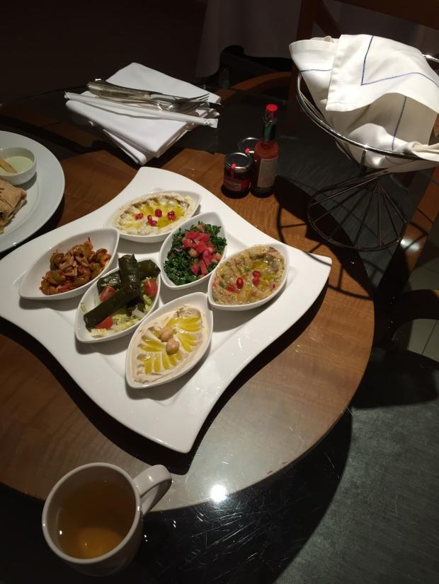 Fairmont Dubai room service